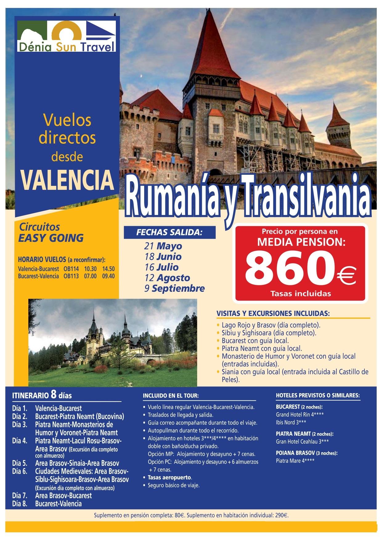 RUMANIA Y TRANSILVANIA_